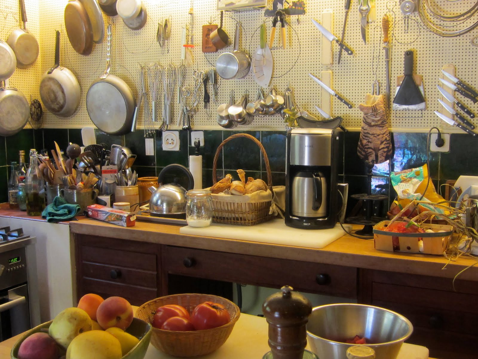 Home Kitchen Cooking Cooking In Julia Child's Former Kitchen In Provence  Betty Rosbottom