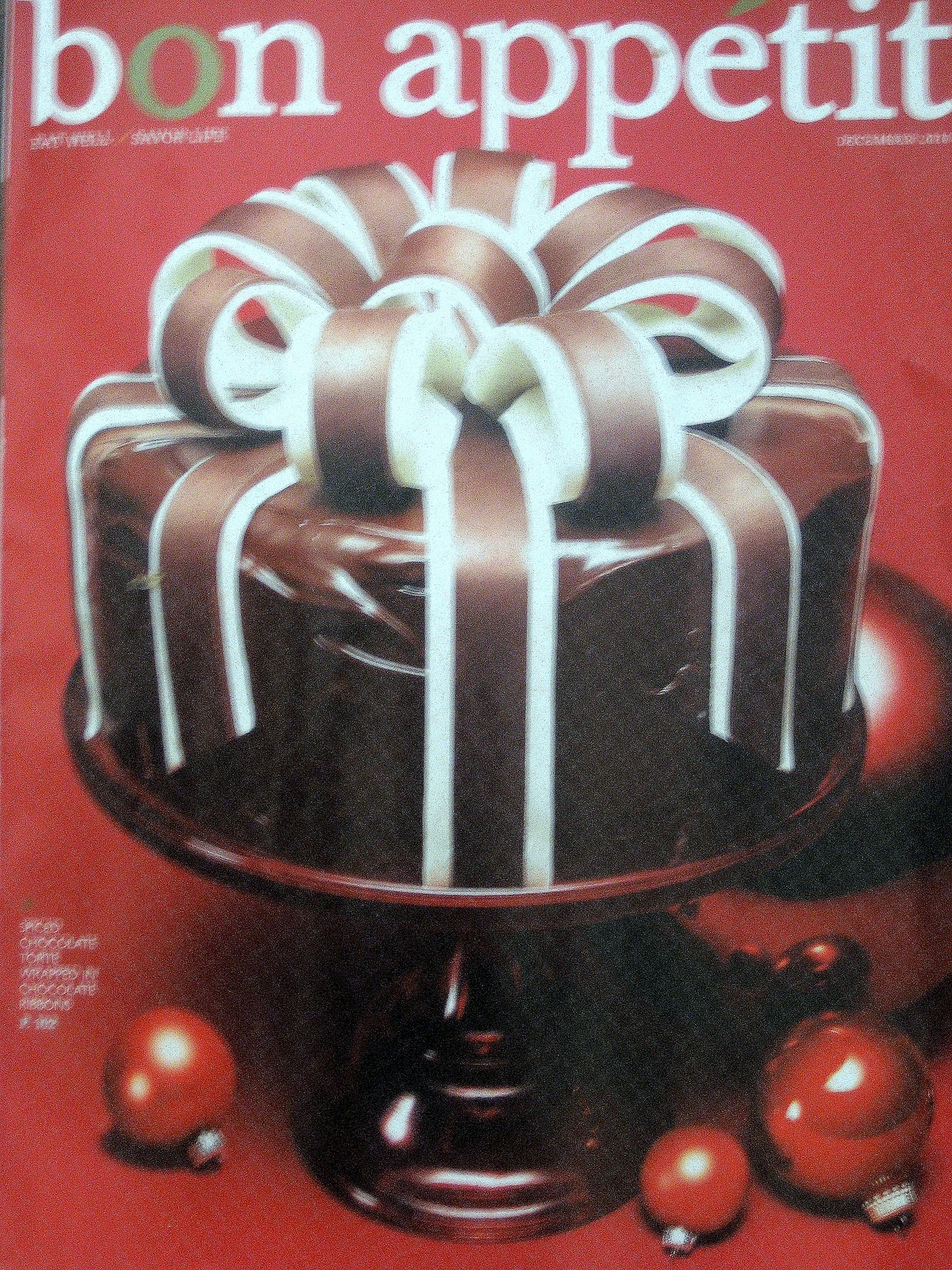 Bon Appetit Magazine Covers Up my december bon appetit